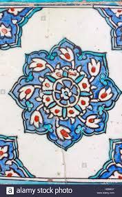 Ottoman Tiles Ancient Made Turkish Ottoman Tiles In Topkapi Palace Stock