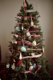 tea cups as tree decorations it