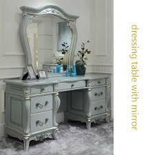 french style bedroom dressing table with mirror classic elegant