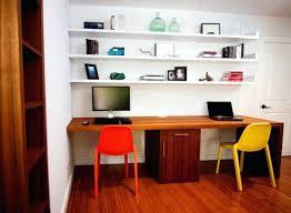Floating Office Desk Floating Shelf Desk Floating Desk Home Office Transitional With
