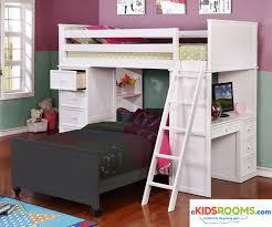 Loft Bed Frames Allen House Loft Bed Bed Frames Ekidsrooms