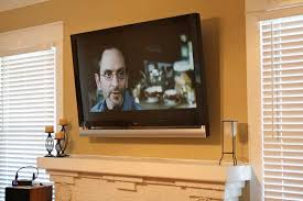 Corner Gas Fireplace With Tv Above by Installing A Television Over A Fireplace Audioholics