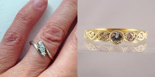 Reset Wedding Ring by Remodelling Diamond Ring Examples Before U0026 After Photos Part 2