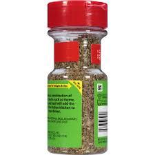 mccormick perfect pinch italian seasoning 0 75 oz walmart com