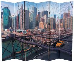 New York Room Divider Furniture 71 25 X 94 5 Sided New York Taxi 6