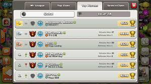 top players of clash of clans teehunter com