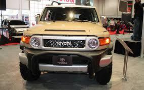 fj cruiser dealership trd tuned toyota fj cruiser concept 2012 sema show motor trend