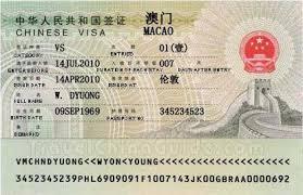 macau visa application requirements
