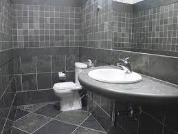 dark gray tile bathroom fine bathroom tile ideas grey slate
