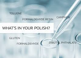 beneath the label what goes in your polish and on your nails