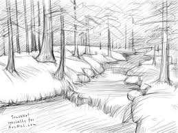 How To Draw Landscapes best 20 landscape drawing tutorial ideas on pinterest trees