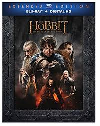 amazon price match black friday blu ray amazon com the hobbit the battle of five armies extended edition