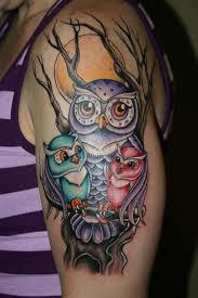 mer enn 25 unike ideer om watercolor owl tattoos på pinterest