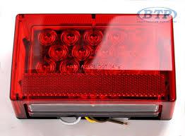 submersible led boat trailer lights submersible led boat trailer light left hand standard mount