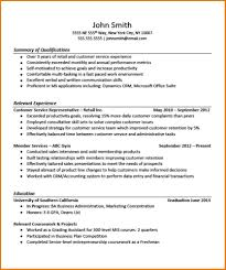 Resume Sample Of Customer Service Representative by Marvelous 7 Job Resume Examples No Experience Assistant Cover