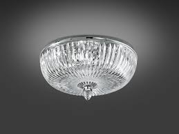 Modern Ceiling Lights by Nella Vetrina Italamp 316 4a Modern Ceiling Light In Clear Crystal