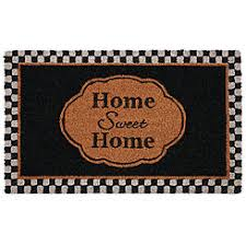 Coir Doormat Wipe Your Paws Doormats Coir Sears