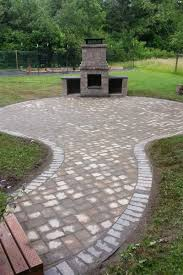 backyard fire pit grill patio pavers for fire pit modern patio
