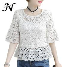 summer blouses lace blouse fashion 2017 summer tops womens clothing crochet