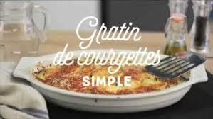 recette de cuisine courgette recette gratin de courgettes simple facile rapide