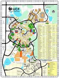 Miami University Map Ucf Campus Map Map Of University Of Central Florida Florida Usa