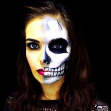 Skeleton Ideas For Halloween Halloween Make Up Idea 50 Creative Halloween Makeup Ideas For
