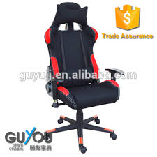 leather and fabric steel frame racing office chair car seat gaming