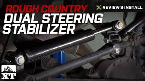 jeep steering stabilizer jeep wrangler 1997 2006 tj country dual steering