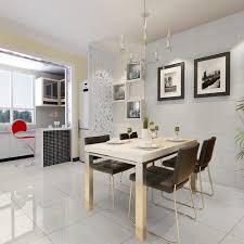 polished white 60cm x 60cm floor tile