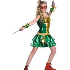 Ninja Turtle Halloween Costume Girls Teenage Mutant Ninja Turtles Deluxe Tween Spirit Halloween