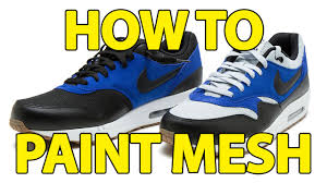 how to black out canvas or mesh angelus paint youtube