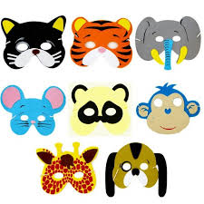 lion mask for kids foam animal masks pets and animal masks fabulous partyware