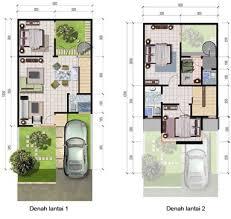 desain rumah lebar 6 meter rumah minimalis cat hitam putih terbaru denah rumah lebar 6 meter