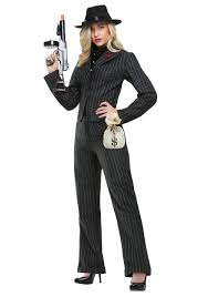 women u0027s gangster costumes female gangster halloween costume
