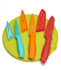 fiesta 7 piece cutlery with board set dillards