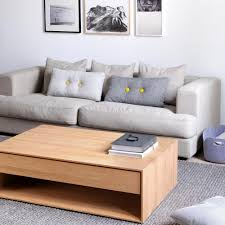 Oak Living Room Tables by Ethnicraft Oak Nordic Coffee Table