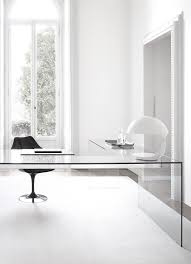 small clear glass table l small space solutions sources for clear glass acrylic desks