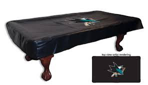 sharks pool tables san jose ca san jose sharks pool table cover 229 99 all star sports