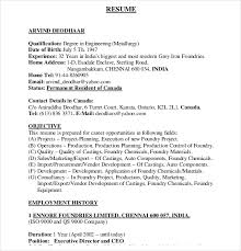 Ceo Sample Resume by Automobile Resume Template U2013 22 Free Word Pdf Documents Download