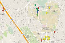How To Draw A Route On Google Maps User 2014 Los Angeles
