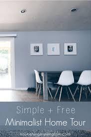 simple free minimalist home tour crystal nourishing minimalism