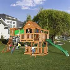 kids clubhouse plans woodridge clubhouse jungle gym and back yard