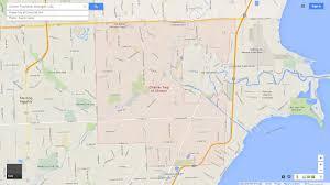 Maps Michigan by Clinton Township Michigan Map