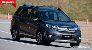 honda br v honda br v displayed in thailand next month ready to be launched