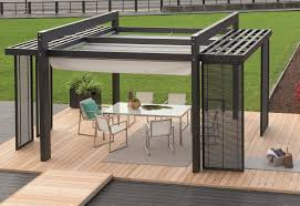 Aluminum Pergola Kits by Elegant Home Exterior Design With Rectangular Modern Pergola Kits