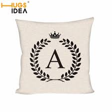 Decorative Letters For Home Online Get Cheap Letters Alphabet Pillow Aliexpress Com Alibaba