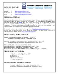 resume sample for server oracle resumes 3 years resume for your job application sql dba resume sample sql dba resume examples cipanewsletter sample sql server dba resume oracle architect