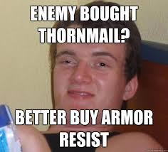 Stanley Meme - enemy bought thornmail better buy armor resist stoner stanley