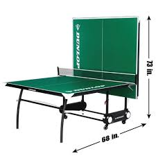 What Are The Dimensions Of A Ping Pong Table by Dunlop 2 Piece Table Tennis Table Walmart Com