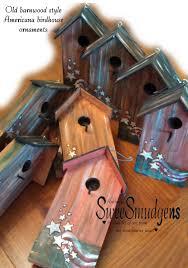 birdhouse home decor americana birdhouse ornament key holder floral craft supply garden